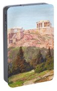 Macco, Georg 1863 Aachen - 1933   The Acropolis Of Athens. Portable Battery Charger