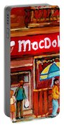 Macdohertys Icecream Parlor Portable Battery Charger