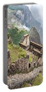 Machu Picchu From Huayna Picchu Portable Battery Charger