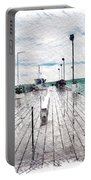 Mackinac Island Michigan Shuttle Pier Pa 02 Portable Battery Charger