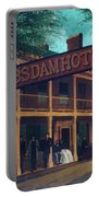 Macomb's Dam Hotel Portable Battery Charger