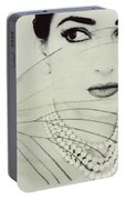 Madam Butterfly - Maria Callas  Portable Battery Charger