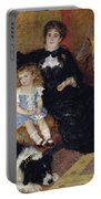 Madame Georges Charpentier Portable Battery Charger