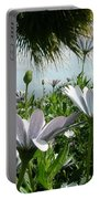 Madeira Daisies Portable Battery Charger