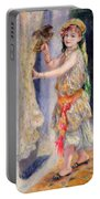 Mademoiselle Fleury In Algerian Costume Portable Battery Charger