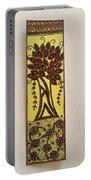 Madhubani Bookmark Portable Battery Charger