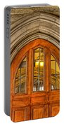Madison Hall Rockefeller College Princeton University Gothic Door Portable Battery Charger