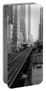Madison St - Wabash Station - Chicago Loop Portable Battery Charger
