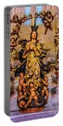 Madonna And Cherubs Portable Battery Charger