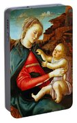 Madonna And Child 1470 Portable Battery Charger