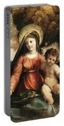 Madonna And Child 1525 Portable Battery Charger