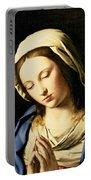 Madonna At Prayer Portable Battery Charger