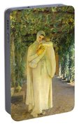 Madonna Of The Arbor Portable Battery Charger