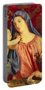Madonna Of The Cherries With Joseph Portable Battery Charger