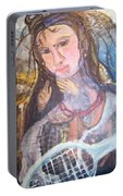 Madonna Of The Racket Portable Battery Charger