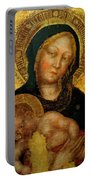 Madonna With Child Gentile Da Fabriano 1405 Portable Battery Charger