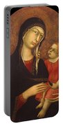 Madonna With Child Portable Battery Charger