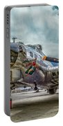 Madras Maiden B-17 Bomber Portable Battery Charger