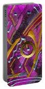 Magenta Joy Dreams Portable Battery Charger