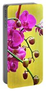 Magenta Orchid 3 Portable Battery Charger