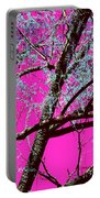Magenta Sky Portable Battery Charger