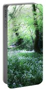 Magical Forest At Blarney Castle Ireland Portable Battery Charger