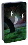 Magical Forest Night Portable Battery Charger