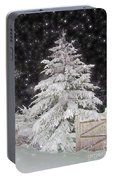 Magical Nighttime Snow Portable Battery Charger