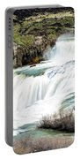 Magnificence Of Shoshone Falls Portable Battery Charger