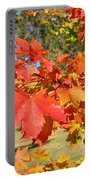 Magnificent Maple Leaves Portable Battery Charger