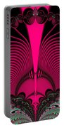 Magnificent Sunrise Reflections Fractal 119 Portable Battery Charger