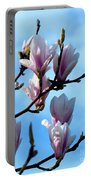 Magnolia Blooms Portable Battery Charger