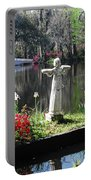 Magnolia Place Pond Portable Battery Charger
