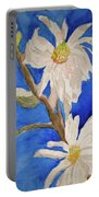 Magnolia Stellata Blue Skies Portable Battery Charger