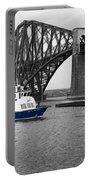 Maid Of The Forth In Blue. Portable Battery Charger