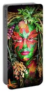 Maiden Of Earth Portable Battery Charger by Karen Wiles