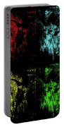 Maidenhair Ferns Pop Art Portable Battery Charger