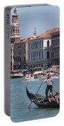 Main Canal Venice Italy Portable Battery Charger