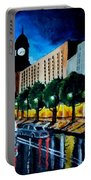 Main Street Clock Tower Portable Battery Charger
