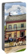 Main Street Of A Bygone Era At Old World Wisconsin Portable Battery Charger