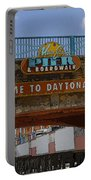 Main Street Pier And Boardwalk Portable Battery Charger by David Lee Thompson