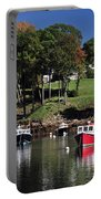 maine 18 Rock Port harbor View Portable Battery Charger