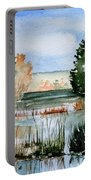 Maine Fall Reflections Portable Battery Charger