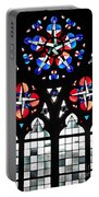 Mainz Cathedral Window Portable Battery Charger