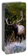 Majestic Bull Elk Survivor In Colorado  Portable Battery Charger