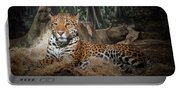 Majestic Leopard Portable Battery Charger