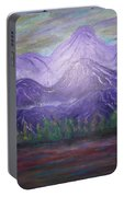 Majestic  Mountains Portable Battery Charger