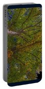 Majestic Trees Abstract Poster 2 Portable Battery Charger