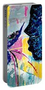 Make A Wish Abstract Art Figure Painting  Portable Battery Charger