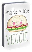 Make Mine Veggie Portable Battery Charger